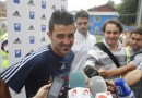 «Espero que la camiseta rojiblanca me de tanta suerte como me dio en el Sporting»