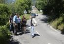 La carretera de Campo de Caso a Tarna en continuo deterioro