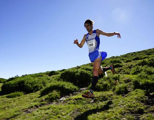 Martín Álvarez Espinar ganador del I Trail Pastores de la Tercia