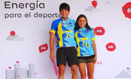 Víctor Fernández y Sonia Amat, ganadores de la XXII Quebrapates Peña Mea