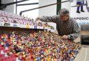 El Molinón a escala Playmobil