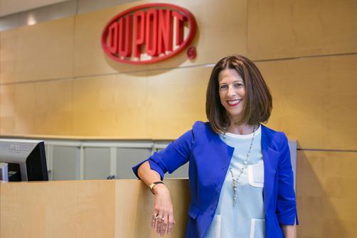 Ángela Santianes, presidenta de Dupont Ibérica