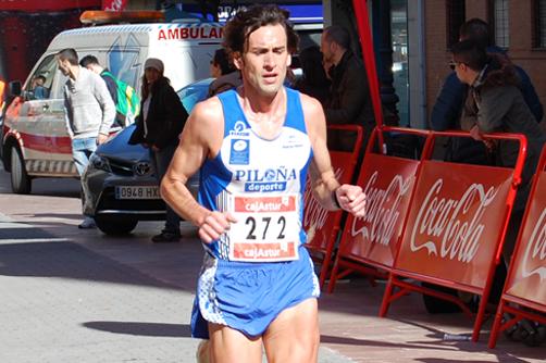 El atleta Martín Álvarez vencedor de la subida a Peña Cabalga