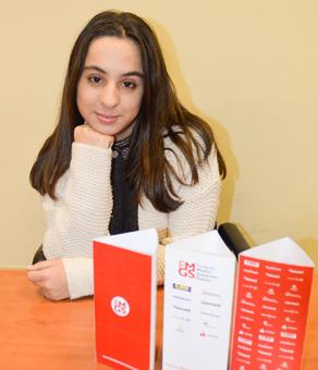 Elena Marcos Llaneza, ganadora del XVI Concurso de Redacción
