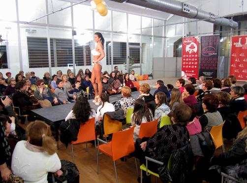 Desfile de lencería en la pasada edición de la Feria de la Moda y BBC Samartín