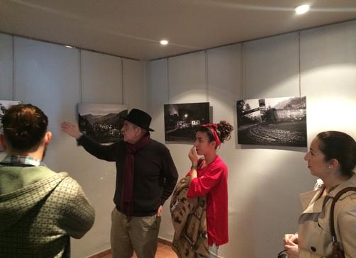 Exposición fotográfica de Javier Xué en Sotrondio