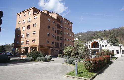 Bloque de viviendas de VIPASA en El Entrego