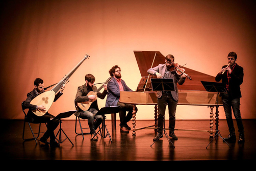 Concierto 'Café Telemann' del Forma Antiqva en el Nuevo Teatro de La Felguera