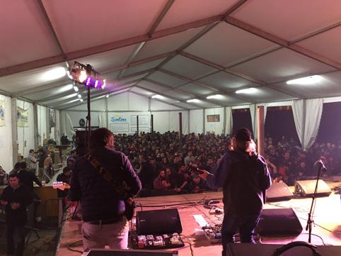 Público durante una de las actuaciones enmarcadas en el festival el pasado año