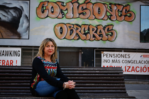 Esther Barbón, nueva secretaria general de CCOO del Nalón