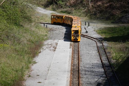 Tren del Ecomuseo del Samuño
