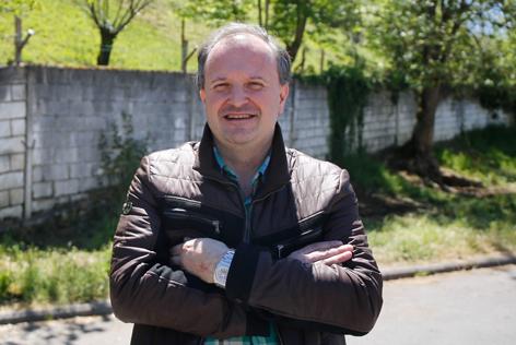 David Álvarez, nuevo coordinador de IU de Langreo