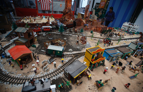 Exposicion de Playmobil en El Trabanquín.