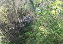 San Martín limpia el vertedero ilegal de L'Abeduriu