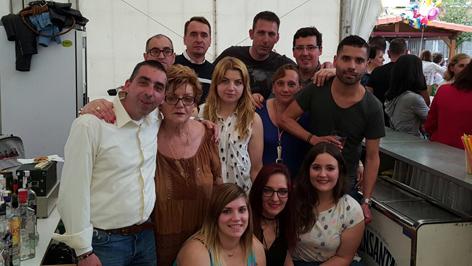 Comisión de festejos de San Martín de Tours de Sotrondio