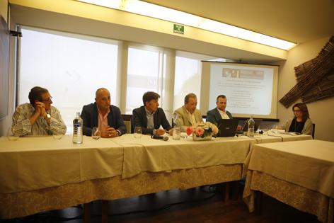 Presentación de la nueva asociación 'Empresas del Nalón'.