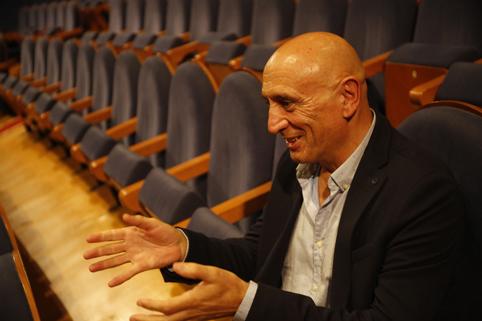 José Ramón Flórez durante la entrevista