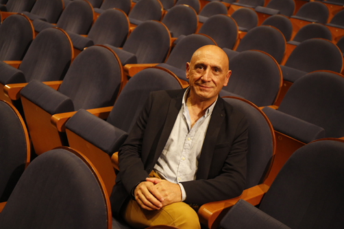 José Ramón Flórez es productor musical  y propietario de PKO fue pregonero de las fiestas de San Pedro