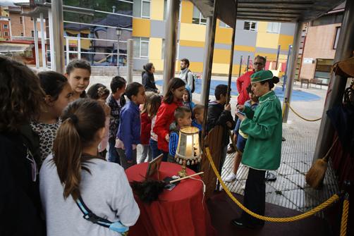 La Petite Caravane en Blimea, uno de las actividades enmarcadas dentro del programa de FESTIN