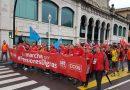 Hasta Madrid para pedir unas pensiones dignas