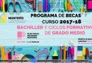 Abierto plazo de becas para Bachiller y Ciclos FP Grado Medio del Montepío