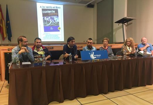 Presentación de 'Corriente contra' libro solidario de Héctor Moro en el CIDAN de Pola de Laviana.