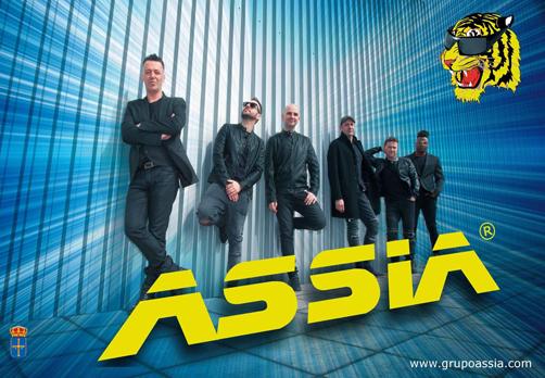 La Orquesta Assia, una de los atractivos musicales durante los festejos de Blimea.