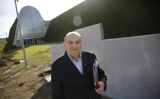 Juan León Quirós, presidente de Amigos del Deporte.