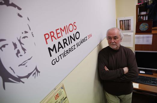 presidente de los marino gutierrez 26/1/2018 foto: Juan Carlos Román