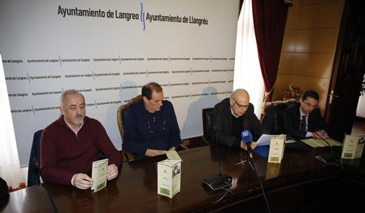 Presentacion de los premios Langreanos en el Mundo en el Ayuntamiento de Langreo.