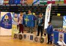 Kevin Arias, del club Arqueros San Martín, campeón de España de arco compuesto