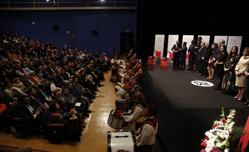 Fin de la gala de los Premios Marino Gutiérrez.