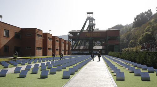 El Pozo Sotón reabre a los turistas con un ambicioso recorrido minero exterior como nuevo aliciente