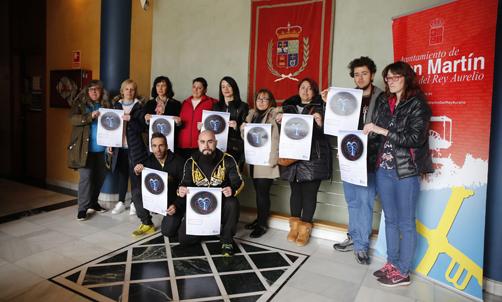 Recepción de madres y padres de niñ@s con autismo en el ayuntamiento de San Martín.
