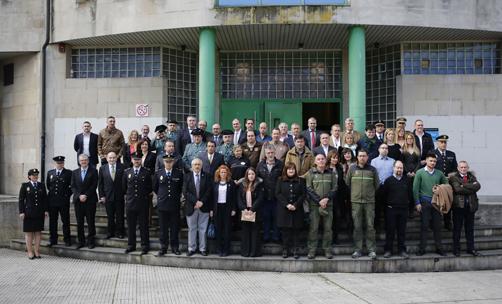 Foto de familia de los premios AVISPA.