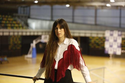 Entrevista a Marisa Valle Roso en el  centro deportivo Juan Carlos Beiro.