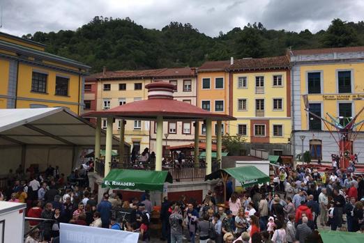 Festival de la Sidra de Sotrondio el pasado año.