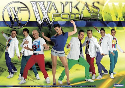 Orquesta Waykas Family.