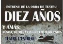 """San Martín estrena el 14 de junio la obra """"Diez años"""" sobre el maltrato visto con ojos de niña"""