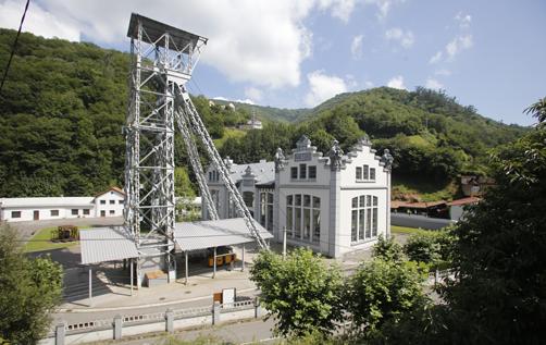Pozo San Luis de La Nueva, perteneciente al Ecomuseo Minero Valle de Samuño. 25/07/2017 foto: Juan Carlos Román