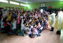 En el CP Gervasio Ramos se pesca la Paz