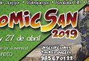 Comicsán 2019 se celebrará los días 26 y 27 de abril en la Casa de la Juventud