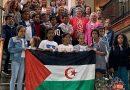 Langreo ofrece una recepción institucional a 18 menores saharauis acogidos por familias del Valle del Nalón