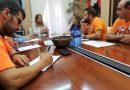 La alcaldesa de Langreo recibió al comité de empresa de Vesuvius y le traslada su oposición al cierre de la fábrica