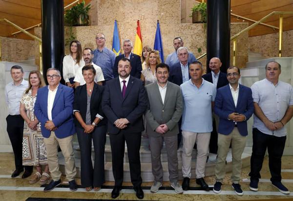 fondos mineros, asturias, comarcas mineras, acom, adrian barbon, principado, pedro sanchez, españa