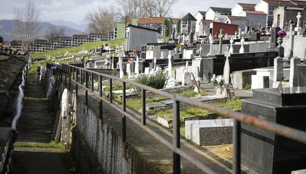 cementerios, langreo
