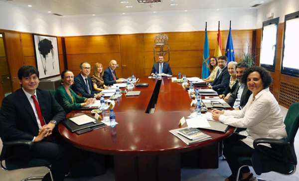 adrian barbon, gobierno, asturias