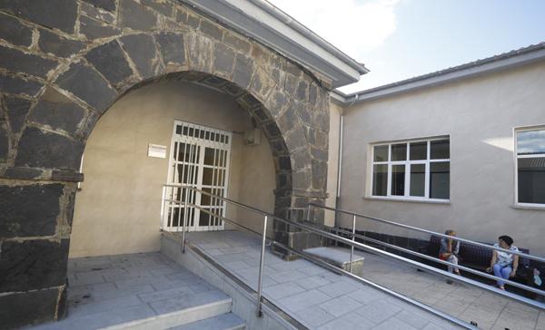 Oficina municipal del ayuntamiento en Barredos.
