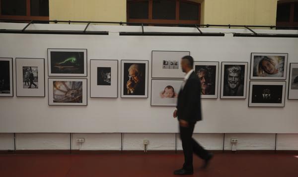 Exposición fotográfica 'Una forma de mirar' en la Casa de Cultura Escuelas Dorado de Sama.