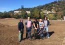 San Martín estrena en El Entrego la primera pista permanente de ciclocross del Cantábrico